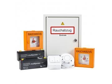 RWA-Set 2A inkl. 2 Bedienstellen & Rauchmelder