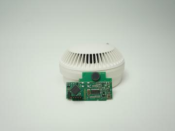 Funk Rauchmelder RWA mit Batterie