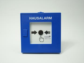 Hausalarm Bedienstelle blau